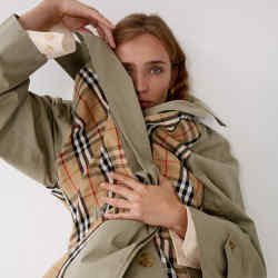 1/Off Paris takes secondhand pieces – such as this Burberry trench coat – and turns them into contemporary designs