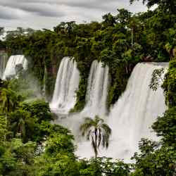 Iguazú Falls in the Argentine province of Misiones – the author's final destination after exploring the region's reducciones