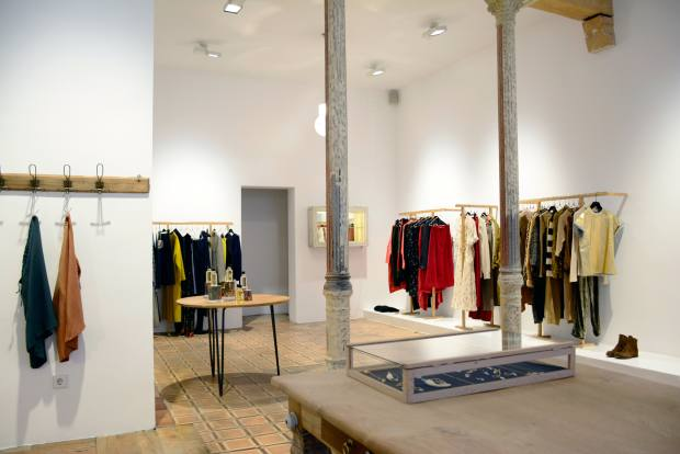 Pilar Ordovas enjoys visiting Pez, a store full of clothes by emerging designers