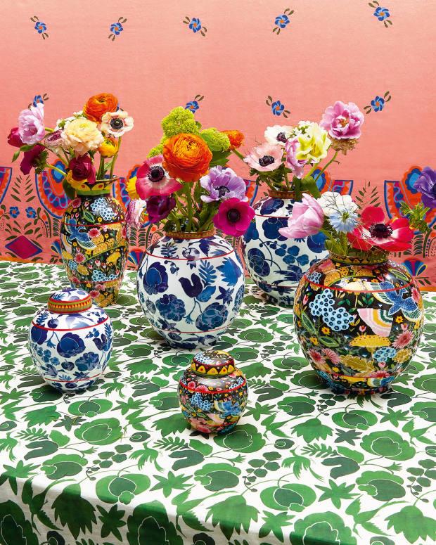 La DoubleJ's decorative vases, from £300