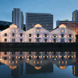 Singapore's The Warehouse is housed in a heritage-listed building near Robertson Quay