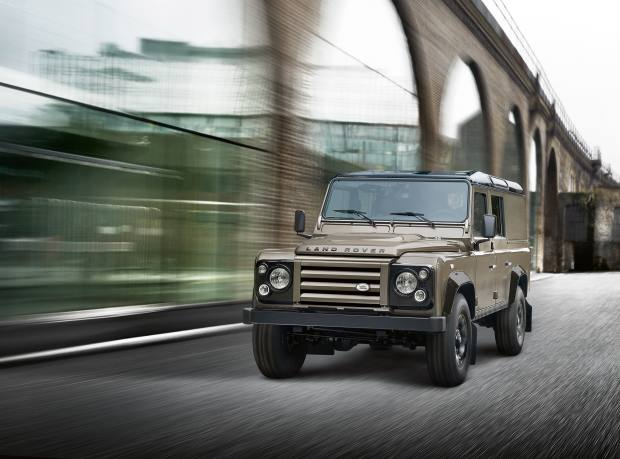 A Land Rover Defender 110, from £23,095