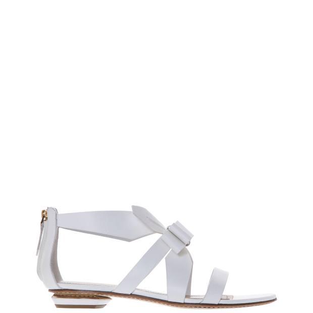 Nicholas Kirkwood leather Origami sandals, £625