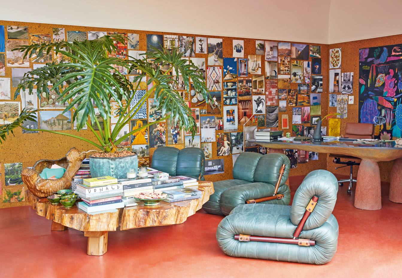 Richard Christiansen's garden music room with Percival Lafer chairs, shot for AlexEagle's new bookof interiors