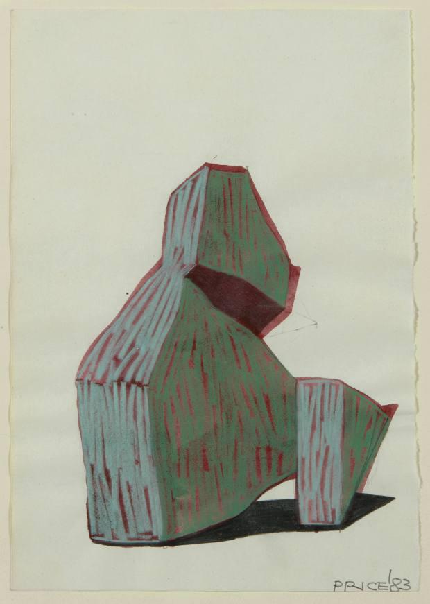 Ken Price drawing, £9,000-£13,000
