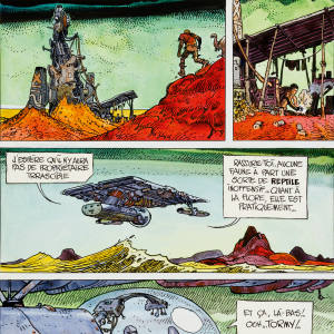 It's a Small Universe (1976) by Moebius (Jean Giraud), sold for $19,120 at Heritage Auctions