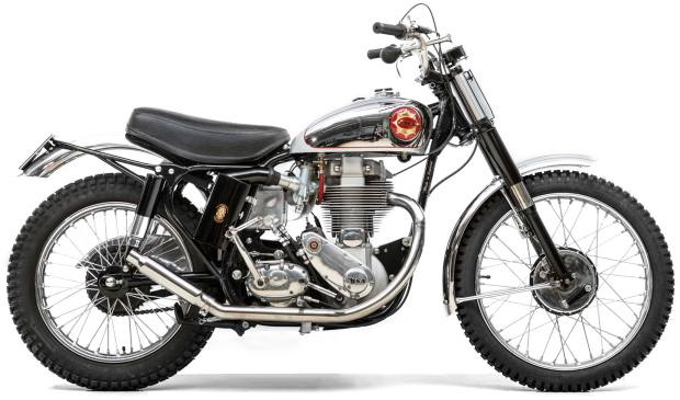 1961 BSA Gold Star, sold for £18,975 at Bonhams
