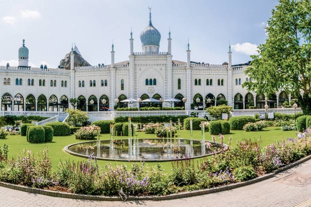 The Moorish hotel Nimb is in Tivoli Gardens, one of the oldest theme parks in the world