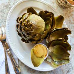 Artichoke starters will appear on the menu when in season