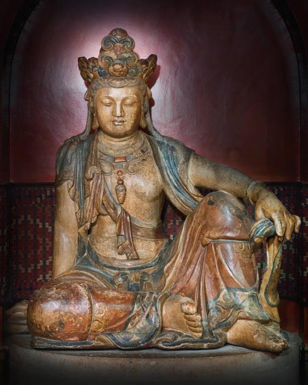 The serene Bodhisattva from the celebrated Buddha Room, £10,000-£20,000
