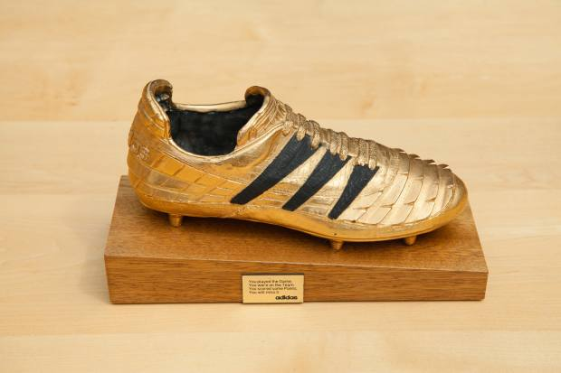 Little's Adidas Golden Boot