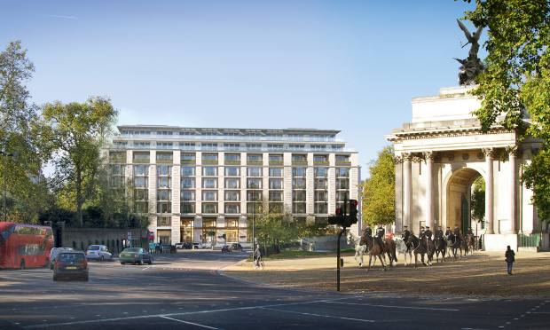 The Peninsula London has 28 supersized residences and offers views of Buckingham Palace Gardens