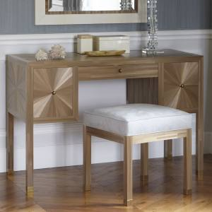 Todhunter Earle bespoke dressing table, designed by Emily Todhunter and made by Jallu Ebénistes, price on request