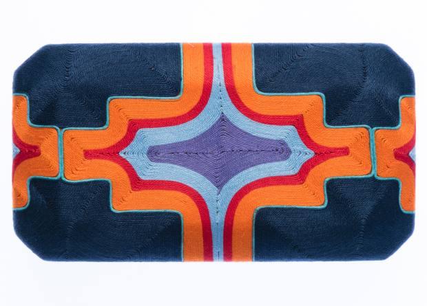 Beatriz cotton Cheska clutch, $300
