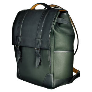 JM Weston box calfskin and canvas backpack, £1,300
