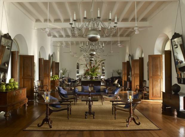 The Zaal at the Amangalla, in Galle