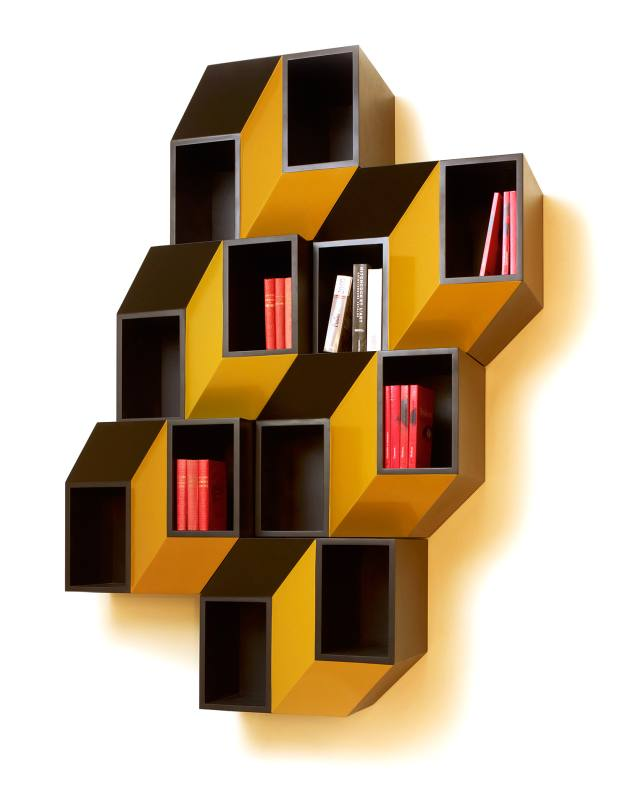 Charles Kalpakian cortan and lacquer Kinetecism wall cabinet, €25,200