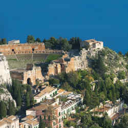 Grand Hotel Timeo, opposite Taormina's Greek theatre, is benefiting from a multimillion-pound renovation.