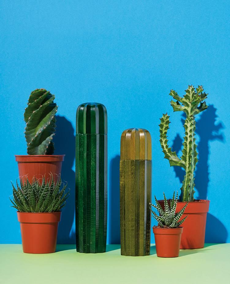 DOIY beechwood Cactus salt and pepper-mill set (28cm and 23cm x 6.5cm), £46