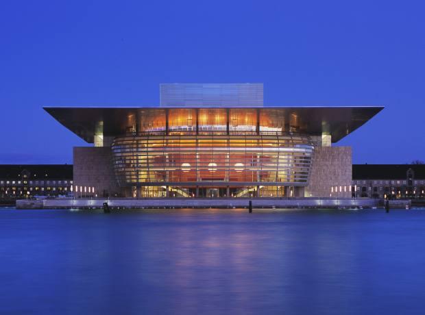 The distinctive Royal Danish Opera House.