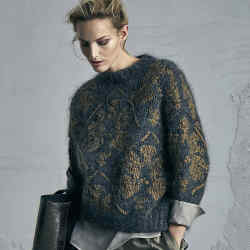 Brunello Cucinelli cashmere, wool and mohair jumper, £3,210