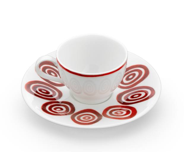The collection includes espresso cups, from €35