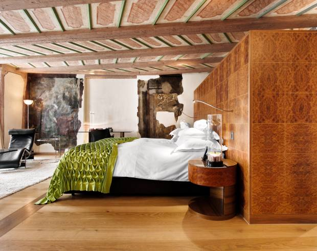 49-room Widder Hotel is made up of a series of medieval townhouses