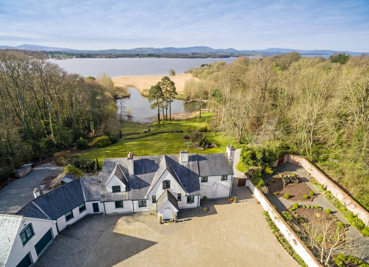 A four-bedroom house on Lough Derg, in excess of €1.495m through Savills