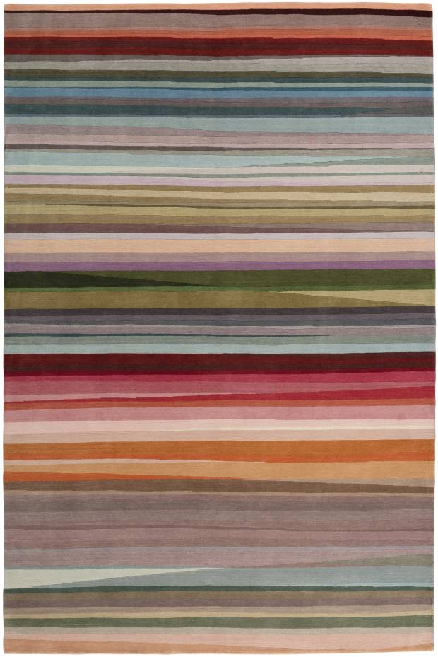 Paul Smith handknotted Tibetan-wool Festival rug, from £1,055 per sq m