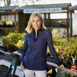 Fashion designer Tory Burch, who seeks out Scandinavian glassware and retro ice cream in The Hamptons