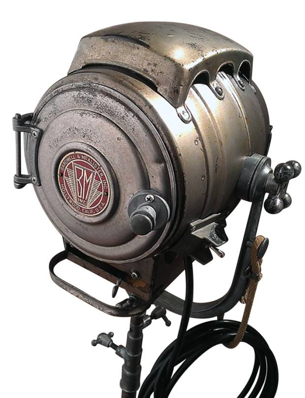 1940s Bardwell & McAlister keg light, $925 from Scarpati Studio