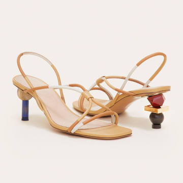 Jacquemus Olbia leather sandals, £560