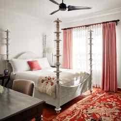 The Queen suite at Casa Claridge's, Miami Beach