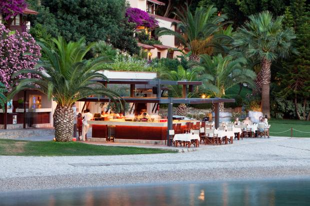 Beach Bar & Restaurant does barbecues at lunch and delicious Italian come evening