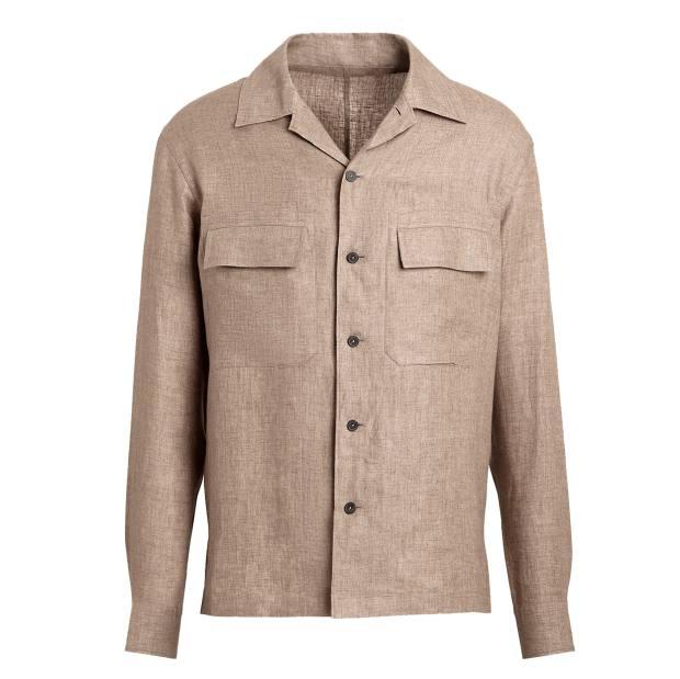 Ermenegildo Zegna linen overshirt, £380