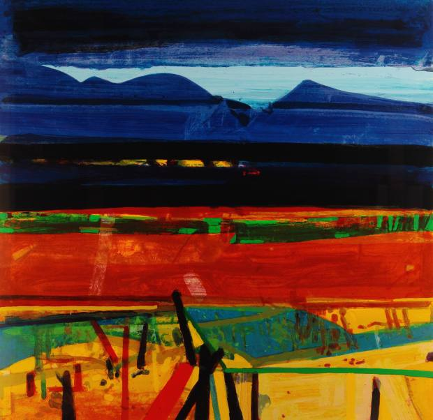 Achill Fence by Barbara Rae, £1,400
