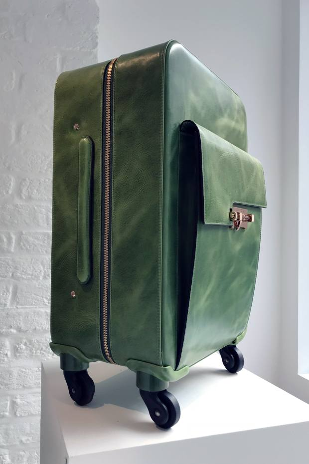 Gladstone London's luggage captures some of the romance of early-20th-century travel