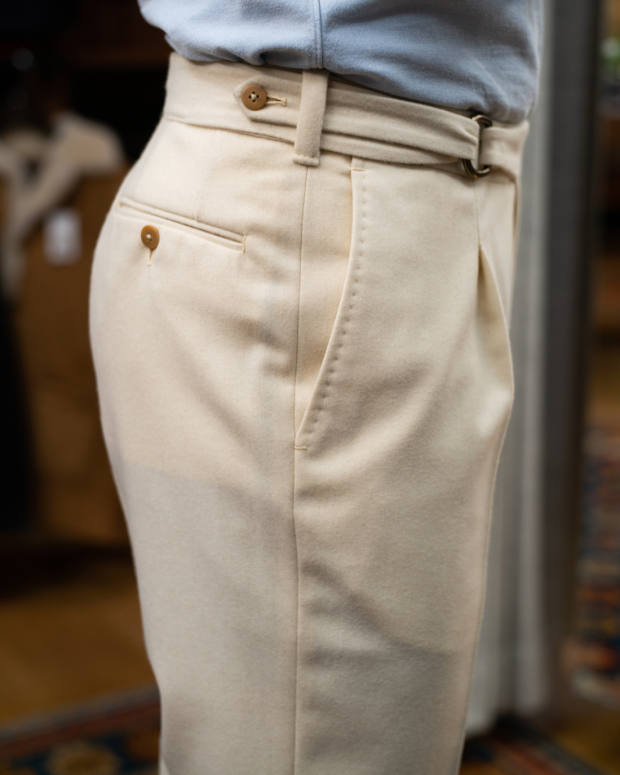 The Armoury x Pommella Napoli flannel PA1 trousers, $800