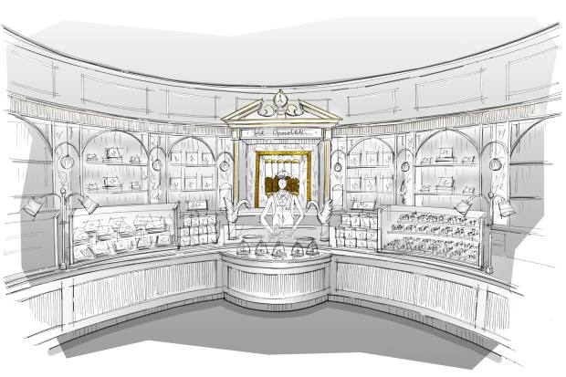 The new Fortnum & Mason confectionery department will have a hot-chocolate station serving rare varieties