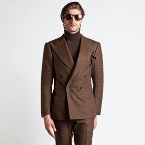 Mélange wool suit, €3,200