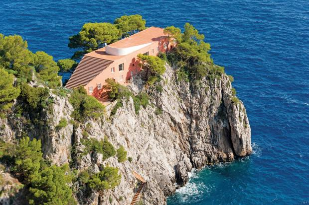 The 1930s Villa Malaparte on Capri