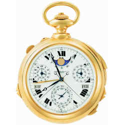 The Patek Philippe Supercomplication, at almost £18m the most expensive watch ever sold at auction