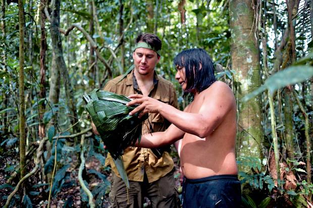 Plan South America arranges immersive adventures with the Sápara people of the Ecuadorian Amazon, whose Naku organisation is striving to save them, their way of life and knowledge of traditional plant medicine from extinction. American actor Channing Tatum, seen here visiting the indigenous community, is a supporter of their conservation efforts