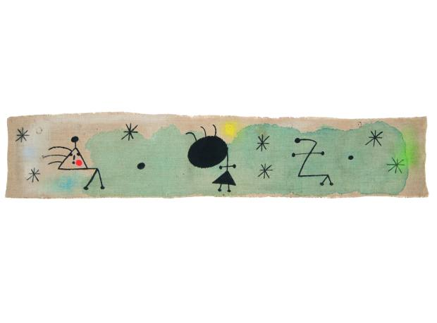 Personages, Bird, Stars by Joan Miró, £850,000