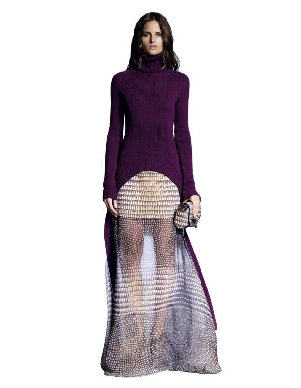 From the pre-fall 2011 collection by Riccardo Tisci for Givenchy.