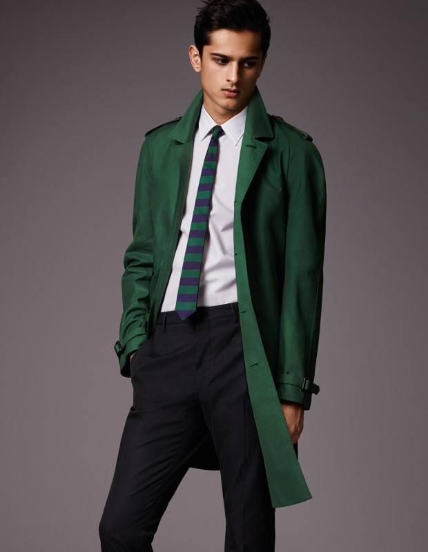 Burberry cotton raincoat, £1,095