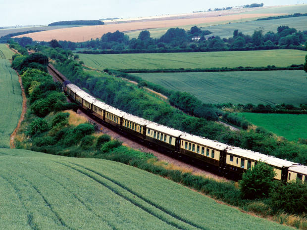 The iconic art deco train will journey through scenic English countryside during the culinary events