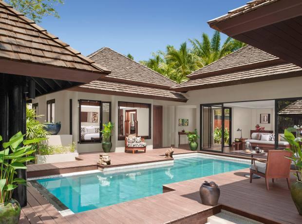 A two-bedroom villa at Anantara Layan Phuket Resort