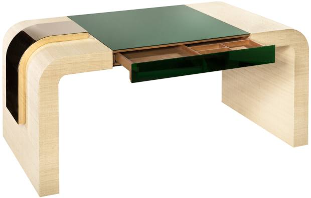 A desk created in conjunction with Aliprandi Valentino, £10,795 from Artemest