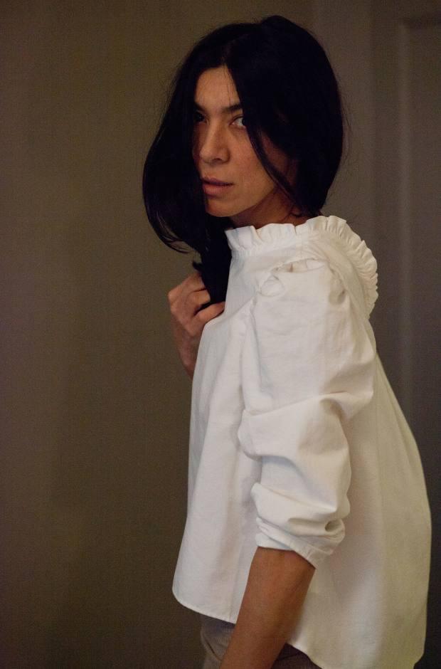 Atlantique Ascoli cotton/linen blouse, £355